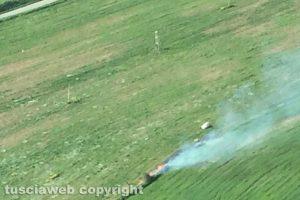 Bolsena - La sorveglianza antincendio