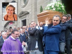 Viterbo - I funerali di Nicoletta Ascenzi