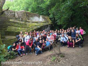 Bomarzo - Trekking culturale in cammino sulla scena del Battesimo di Gesù