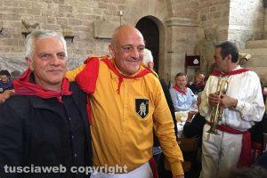 Gubbio - Il Sodalizio dei Facchini di Santa Rosa alla festa dei Ceri