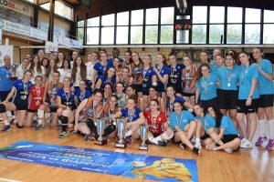 Sport - Pallavolo - Vbc Viterbo - Le ragazze dell'under 18