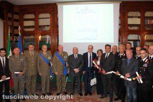 La cerimonia di consegna delle onorificenze dell'ordine al merito della repubblica