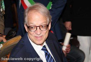 Il vicepresidente della corte Costituzionale Aldo Carosi