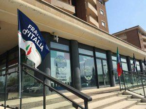 Viterbo - Casa tricolore - La sede di Fratelli d'Italia