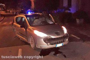 Montefiascone - Incidente stradale sulla Verentana
