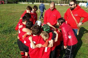 Sport - Rugby - Tusciarugby - La formazione under 8