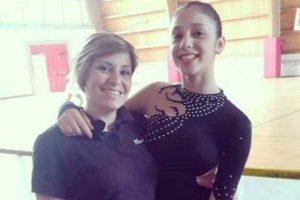 Sport - Pattinaggio artistico - Libertas Pilastro - Maurizia Burioni e Francesca Cianchi