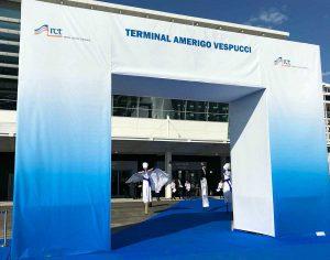 Civitavecchia - L'inaugurazione del terminal Vespucci