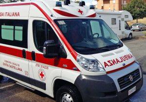 Croce Rossa - Un'ambulanza