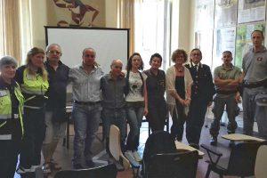 Tarquinia - L'incontro sulla campagna antincendi