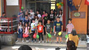 Viterbo - La festa finale dei ragazzi del VA e del VB della Volta