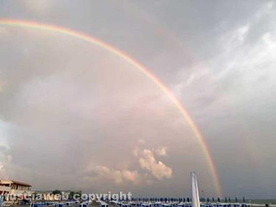 L'arcobaleno a Montalto Marina