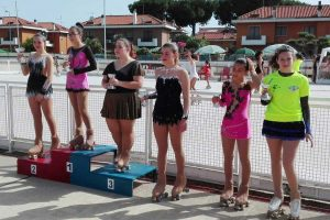 Sport - Pattinaggio artistico - Le ragazze della Libertas Pilastro