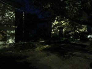 Viterbo - La piazza di Tobia al buio