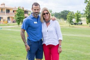 Sport - Golf - Ascanio Pacelli e Roberta Beta