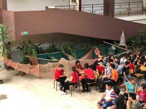 Bolsena - La barca a scuola