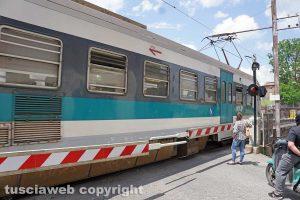 Un treno della Roma Nord