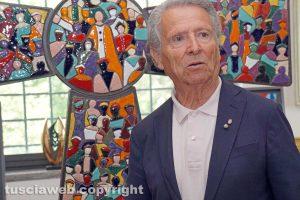 Viterbo - Roberto Joppolo e il Mosaico dell'Umanità
