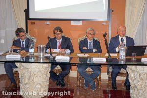 Viterbo - Fabrizio Guelpa, Stefano Barrese, Marco Lazzari e Pierluigi Monceri