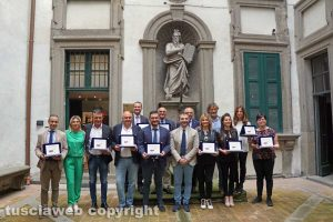 Viterbo - Le aziende premiate