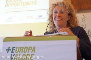 Viterbo - La sottosegretaria Alessandra Pesce
