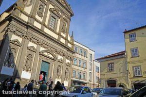 Viterbo - La chiesa di Santa Maria della Pace