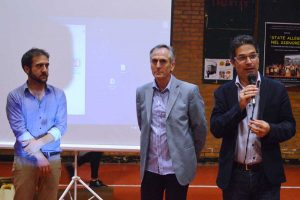 Viterbo - Da sinistra: Simone Scataglini, Ugo Londo e Luca Bondi