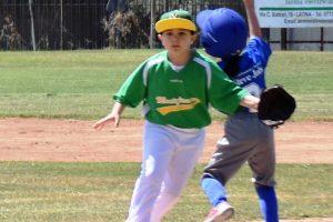 Sport - Baseball - Un piccolo atleta del Montefiascone