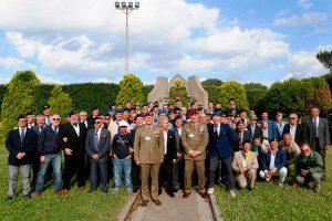 Viterbo - Raduno degli ex allievi del 37°, 38° e 39° corso alla caserma Soccorso Saloni