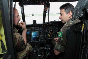 Una delegazione dell'esercito brasiliano a Viterbo