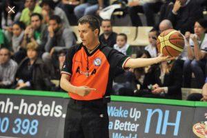 Sport - Pallacanestro - L'arbitro viterbese Emanuele Aronne