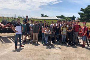 Tarquinia - Gli studenti del Cardarelli al centro Fiaccadori soluzioni
