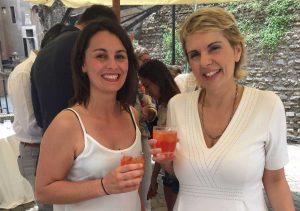 Martina Tosoni alla presentazione dell'iniziativa a Castel Sant'Angelo