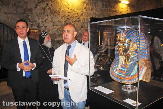 Tutankhamon - L'inaugurazione della mostra