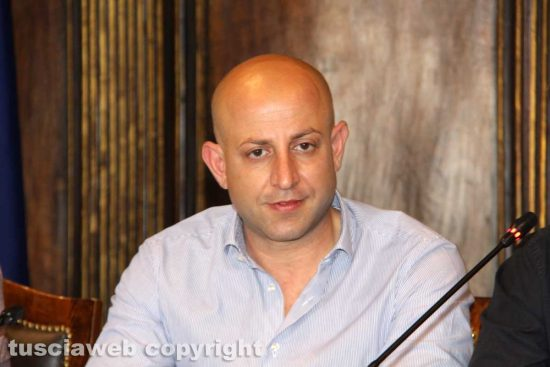 Il presidente del consiglio comunale Marco Ciorba