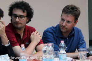 Spettacolo - Civita cinema - Glauco Almonte e Vaniel Maestosi