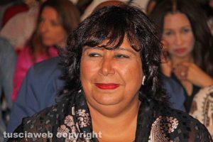La ministra della cultura egiziana Ines Abdel-Dayem