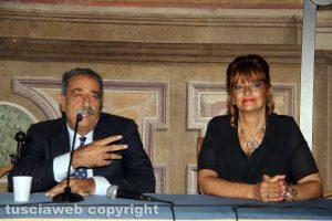 Silvia Somigli e il segretario nazionale Uil scuola Pino Turi