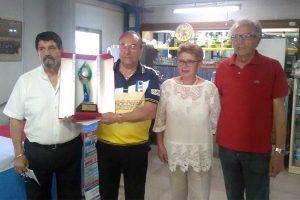 Sport - Bocce - Franco Giannone vince il memorial Tebaldo Pannucci