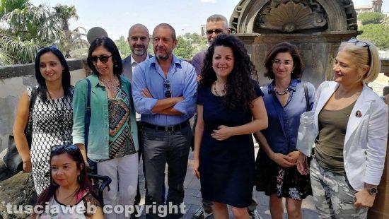 Chiara Frontini, la conferenza per presentare Franco