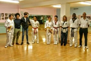 Sport - Arti marziali - Gli esami di grado del Taekwondo olimpic Vetralla