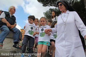 """Viterbo - La manifestazione """"Rispettare l'ambiente è salute"""""""