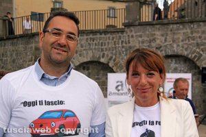 Viterbo - Daniele Peroni e Daniela Donetti