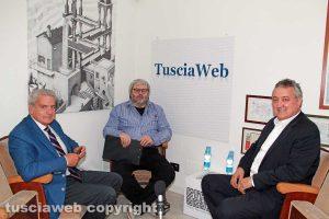 Viterbo - Giovanni Arena, Carlo Galeotti e Paolo Barelli