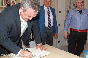 Viterbo - Paolo Barelli firma il diario di bordo della redazione