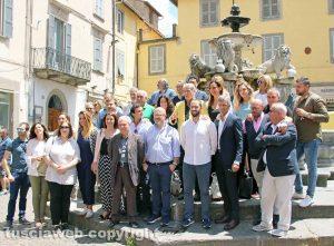 Elezioni comunali 2018 - Viterbo - Il centrodestra con il candidato sindaco Giovanni Arena