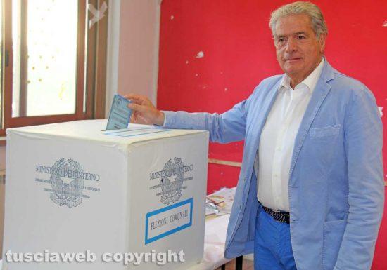 Viterbo - Elezioni - Il voto di Giovanni Arena