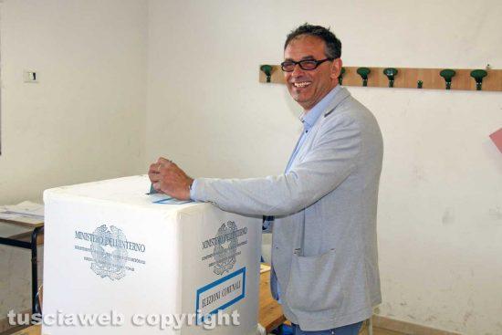 Viterbo - Elezioni - Il voto di Massimo Erbetti