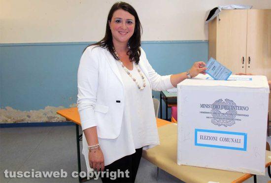Viterbo - Elezioni - Il voto di Luisa Ciambella