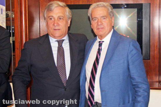 Antonio Tajani e Giovanni Arena